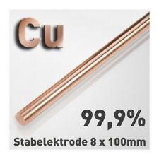 3-12mm Durchmesser 99.9/% Reine Kupferstange Runde Stange 100//150//250//300mm Länge