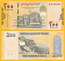 Yemen 200 Rials p-new 2018 UNC Banknote