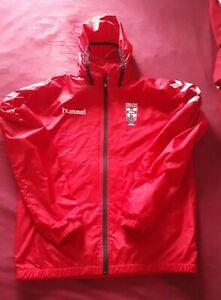 England Rugby league shirt / jacket large Hummel