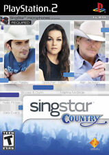 Singstar Country (Game Only) PS2 New Playstation 2