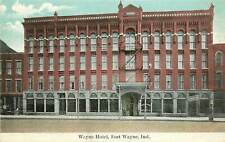 Indiana, IN, Fort Wayne, Wayne Hotel 1908 Postcard
