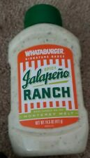 Whataburger signature sauce spicy Jalapeno Ranch from the Monterey Melt