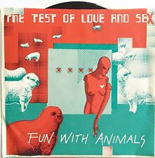 THE TEST OF LOVE AND SEX ~ FUN WITH ANIMALS ~ A&M PROMO 45rpm ~ NEW NEVER PLAYED
