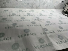 """3 Pieces Versace 30�x40"""" White Logo Tissue Paper Gift Wrap for Box of Bag/Shoes"""
