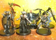 Dungeons & Dragons Miniatures Lot  Evil Player Character Party !!  s108