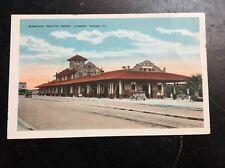 Vintage postcard Missouri Pacific Depot Laredo Texas