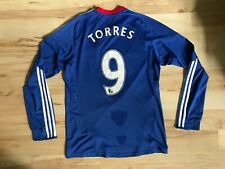 Torres Chelsea jersey small 2010 2011 long sleeve shirt soccer football Adidas
