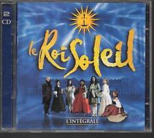 2 CD COMEDIE MUSICALE 22 TITRES--LE ROI SOLEIL--INTEGRALE DU SPECTACLE