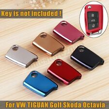 TPU Remote Key Fob Cover Case Shell Protect For VW TIGUAN Golf Skoda Octavia NEW