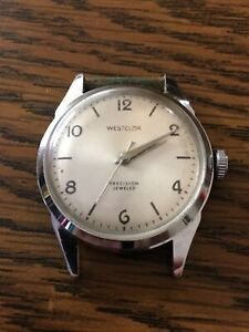 Vintage Westclox precision Jeweled Watch parts/ repair