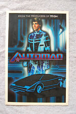 Automan TV show promotional poster 70s