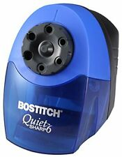 Bostitch QuietSharp 6 Heavy Duty Classroom Electric Pencil Sharpener, 6-Holes,