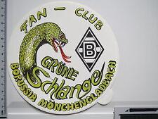 Aufkleber Sticker Borussia Mönchengladbach Fanclub Grüne Schlange (M1042)