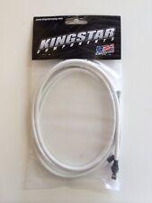 KINGSTAR WHITE PRO BRAKE CABLE WILL FIT BMX, REDLINE, MTB