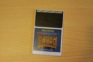 PC Pachislot Idol Gambler rare jeu NEC PC Engine Hucard import JAP