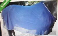 Fliegendecke, engmaschig, Gr. 125 cm, dunkelblau
