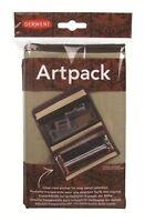 Derwnt Artpack  Derwent Art Pack Derwent Pencil Case Derwent Wrap case