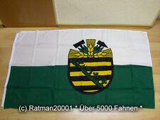 Fahnen Flagge Sachsen - 1948 bis 1952 Sonderposten - 90 x 150 cm