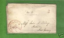 Stampless Cover postmarked March 14, Brooklyn, NY