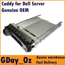 "3.5"" Dell Server Hot Swap Caddy Tray Sled SAS SATA HDD D981C F9541 NF467"
