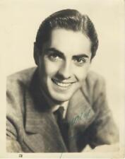 TYRONE POWER-ORIGINAL AUTOGRAPHED PHOTO