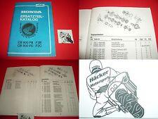 RICAMBIO libro _ RICAMBIO elenco _ CB 900 F _ cb900 F _ Anno di costruzione 1981 - 1982