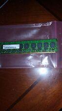 4GB 4X 1GB DDR2 DDR PC2  PC2-5300E DDR2-667 5300 667 ECC UNBUFFERED   2RX8 64X8