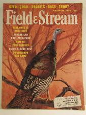Field & Stream Magazine November 1965 Turkey Richard Amundsen