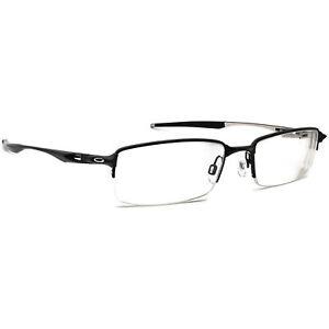 Oakley Eyeglasses OX3119-0155 Halfshock Black Half Rim Metal Frame 55[]19 142