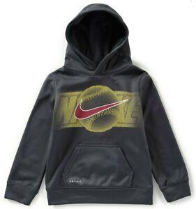 New Nike Boys Dri-Fit Logo Hoodie Choose Size MSRP $38.00