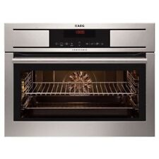 AEG KE8404001M Compact Electric Single Oven - Stainless Steel