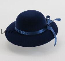 "Blue Velvet Hat for 18"" American Girl Doll Clothes Widest Selection at Lovvbugg!"