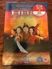 Hero (2002) Dvd Jet Li-Ziyi Zhang-Maggie Cheung - Quentin Tarantino - Region 2