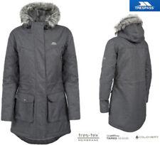 Cappotti e giacche da donna Parka grigio con cerniera