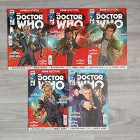 Doctor Who : Four Doctors #1,2,3,4,5. Full Set - Titans Comics 2015