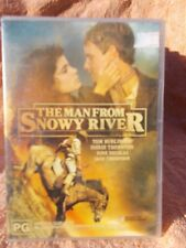 THE MAN FROM SNOWY RIVER TOM BURLINGTON,SIGRID THORNTON DVD PG R4