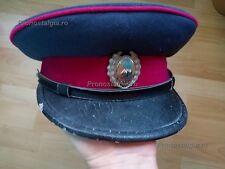 Visor hat Militia Politia cold war Romanian  Rumänien Polizei Mütze