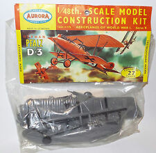 AVIATION : 1/48 SCALE GERMAN PFALZ D-3 1/48 SCALE AURORA MODE KIT (BY)