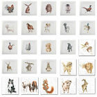 Wrendale Designs Prints / Portrait Range - Farm / Wild Animals