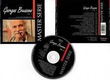 "RARE GEORGES BRASSENS   ""Master Série Vol.2"" CD 16 TITRES  1991"