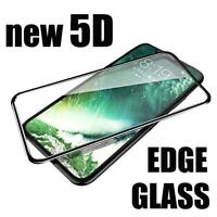 3PCS For iPhone 11 Pro Max 5D Full Cover Tempered Glass Screen Protector lot A-W