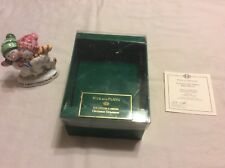Fitz And Floyd Vtg 1997 Our First Christmas Snowman Snow Woman Ornament w/Box