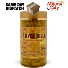 Biosis Natural Pharma Royal Jelly 1000mg 365 Softgel caps Aussie Made