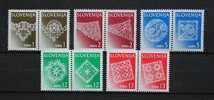 Slowenien kleine Sammlung Zusammendrucke postfrisch