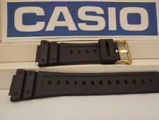 Casio Watch Band DW-5600 EG-9, DW-5600 P-1 Strap W/Gold Tn Bkl.G-Shock Watchband