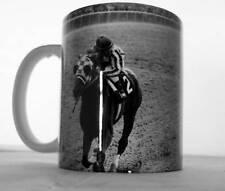 Coffee Mug Unique Secretariat R Turcotte 1973 Belmont Triple Crown Photo 11 oz