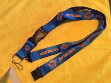 NBA New York Knicks Breakaway Lanyard Key chain