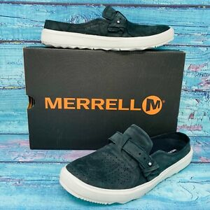 Merrell Women's Around Town Slip on Air Black Fashion Sneaker SHOE SIZE 8 NEW