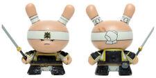 Kidrobot HUCK GEE Gold Life Dunny Black Very Serious Samurai 1/16 KR Sword Vinyl