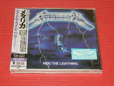2018 METALLICA Ride The Lightning (2016 REMASTER)  JAPAN SHM CD